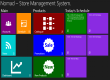 Store Management Application 用户案例